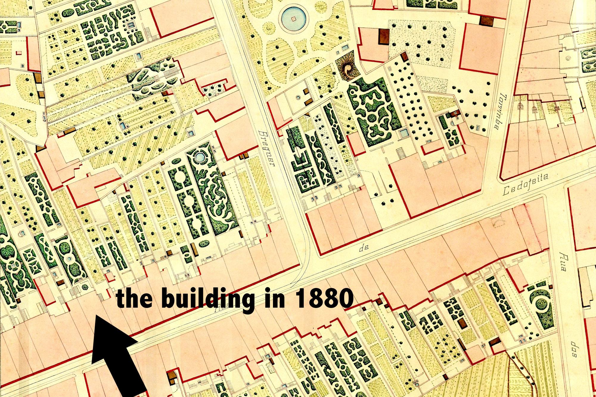 mapa hotel 1880 II